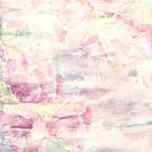 Paint floral background — Stock Photo