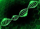 DNA Helix Molecular Background — Stock Photo