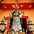 Guan Yu Statue,the God of War from Chinese — Stock Photo #42468921