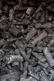 Charcoal for cooking — Stock Photo