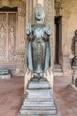 Ancient Buddha Art, Antiques, Vang Vieng, Laos — Stock Photo