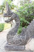 ナガ族、蛇神の像 — ストック写真