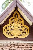 Ancient Buddha Art, Antiques, Vang Vieng, Laos — Stock Photo
