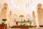 Da Lat city vietnam Cathedral Church — Stock Photo