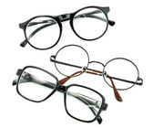 Optical vintage glasses isolated — Stock Photo