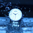 Watch Under Water Drops — Stock Photo #35883079