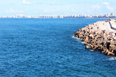 Seashore in Alexandria — Foto de Stock