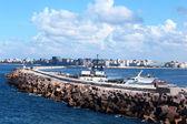 Seashore in Alexandria — Stock Photo