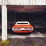 Постер, плакат: Dodge challenger cabrio 1971LappeenrantaFinland