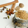 Aromatic spice to the Christmas cookies — Stock Photo