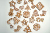 Christmas cookies, gingerbread — Stock Photo