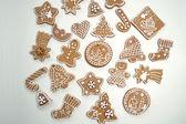 Christmas cookies, gingerbread — Stock Photo
