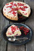 Berry pie and red currants   — Stock Photo