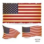 Flag of America — Stock Vector