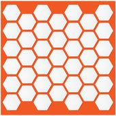 Hexagon background .vector illustration — Stock Vector