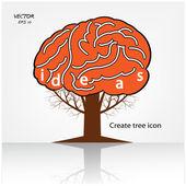 Boom van ideeën — Stockvector