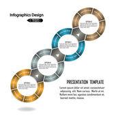 Modern infographics banner. — Stock Vector
