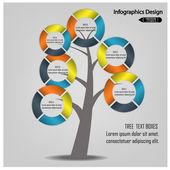 Modern infographics banner — Stock Vector