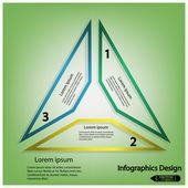 Modern infographics options banner. — Stock vektor