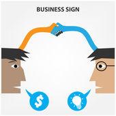 Business creative concept — Stock Vector