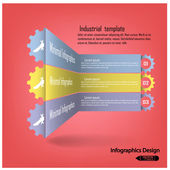 Colorful infographics options banner — Vector de stock