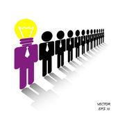 Businessman ,Business People — Stock Vector