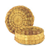 Wicker box — Stockfoto