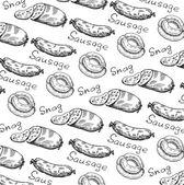Wrapper for snacks — Stock Vector