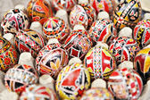 Traditional Painted Eggs — 图库照片