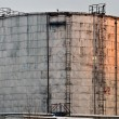 Industrial Oil Tank — Stock Photo