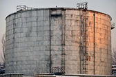 Industrial Oil Tank — 图库照片