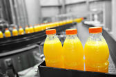 Orange Juice Factory — Stock Photo