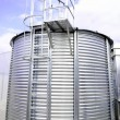 Industrial storage silo — Stock Photo