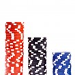 Casino colorful poker chips — Stock Photo