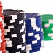 Detail with poker chips — Stock Photo #41758319