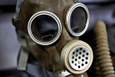 Old gas mask — Stock Photo