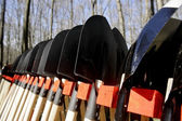 Gardening shovels — Stock Photo