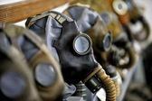 古い防毒マスク — ストック写真