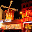 Paris. Moulin Rouge — Stock Photo