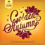Autumn — Stock Vector #33911221