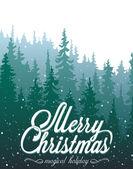 Julkort — Stockvektor