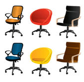 Office furniture — Vettoriale Stock