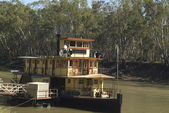 Australia, Paddle Steamer — Stock Photo