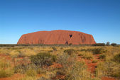 Australia, NT, Ayers Rock — Stock Photo