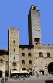 Italy, San Gimignano — Stock Photo