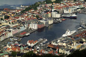 Norwegen, bergen — Stockfoto