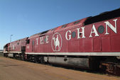 Australia, The Ghan, — Stock Photo