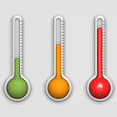 Thermometers — Stock Photo