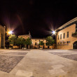 Town Hall Square Mendavia — Stock Photo