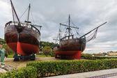 船へのオマージュ — ストック写真